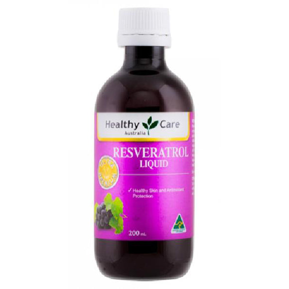 Healthy Care Resveratrol Liquid - 200ml