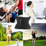 Unisex Hot Shaper Waist Trainer Neoprene Belt Waist Cincher Trimmer