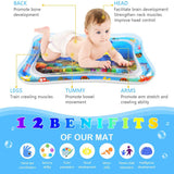 Inflatable Baby Water Play Mat Toddlers Kid Tummy Time