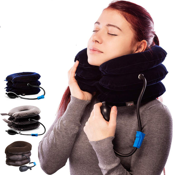Inflatable Cervical Neck Shoulder Traction Device