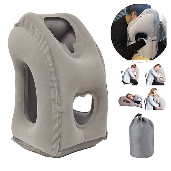 Inflatable Travel Pillow Air Cushion for Sleeping