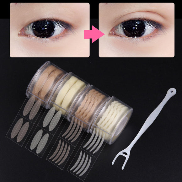 4 Rolls Invisible Mesh Lace Double Eyelid Sticker Make Up Eyeliner Tape