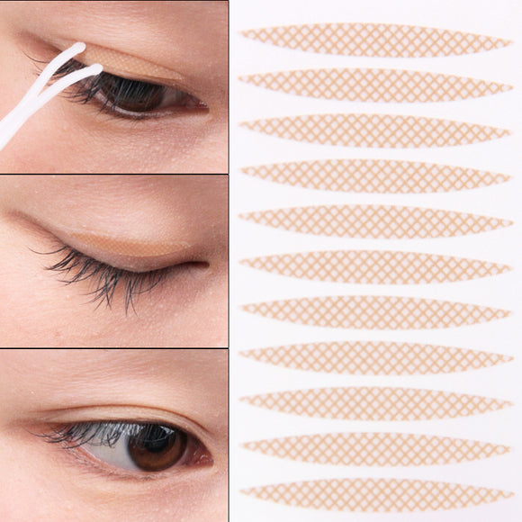 Invisible Mesh Lace Double Eyelid Sticker Make Up Eyeliner Tape