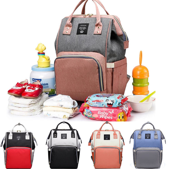 Large Capacity Nappy Mommy Maternity Diaper Bag Backpack