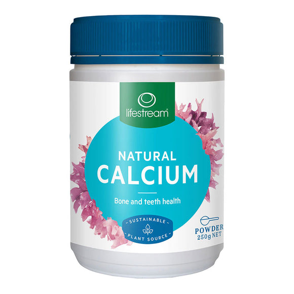 Lifestream Natural Calcium Powder 250g