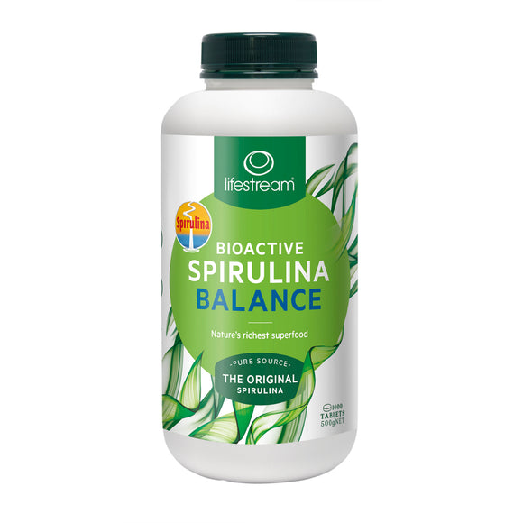 Lifestream Bioactive Spirulina Balance (500mg) 1000 Tablets