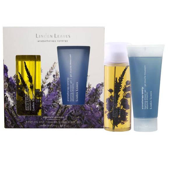 Linden Leaves Absolute Dreams - Body Oil and Shower Gel Set (250ml & 200ml)