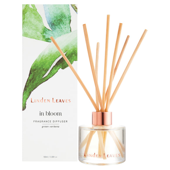 Linden Leaves In Bloom Fragrance Diffuser 100ml - Green Verbena