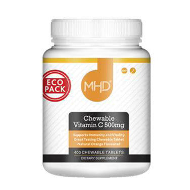 MHD Chewable Vitamin C 500mg 400 Tablets