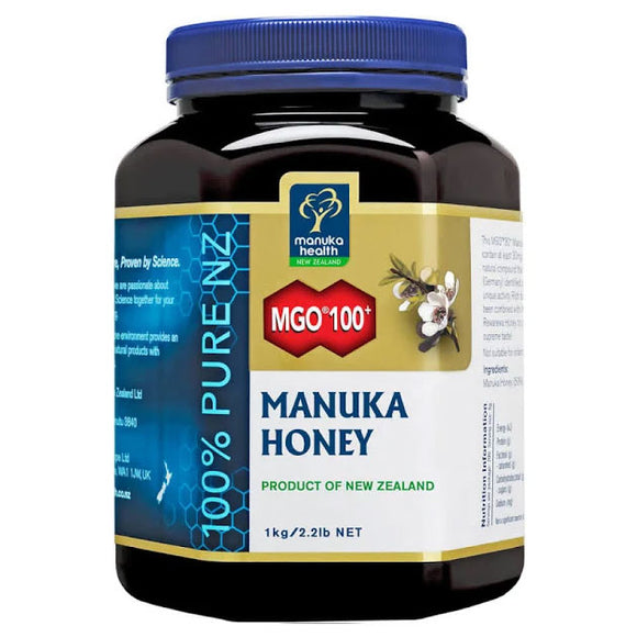Manuka Health MGO 100+ UMF6 Manuka Honey - 1000g