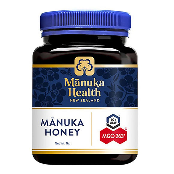 Manuka Health MGO 263+ UMF10 Manuka Honey - 1kg