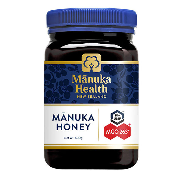 Manuka Health MGO 263+ UMF10 Manuka Honey - 500g