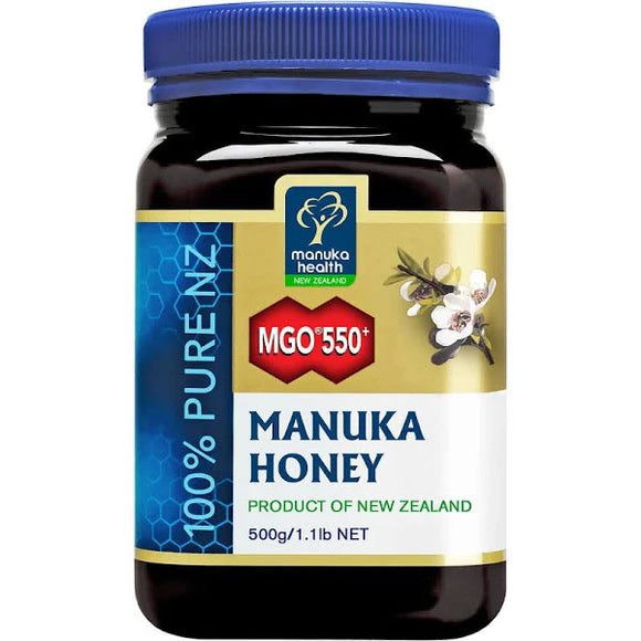 Manuka Health MGO 550+ UMF16 Manuka Honey -  500g