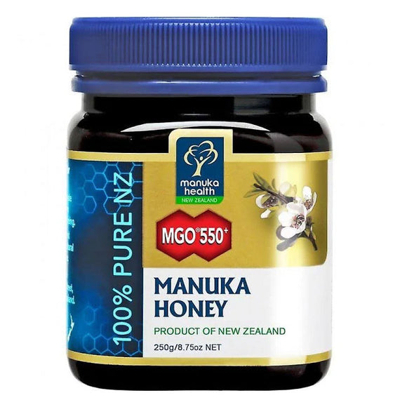 Manuka Health MGO 550+ UMF16 Manuka Honey -  250g