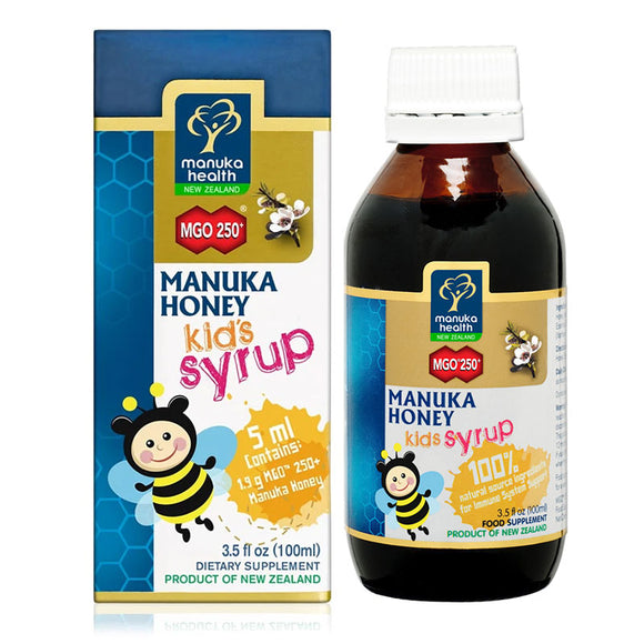 Manuka Health Munuka Honey Kids Syrup MGO 250+ 100ml