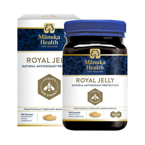 Manuka Health Royal Jelly Capsules - 180 Capsules