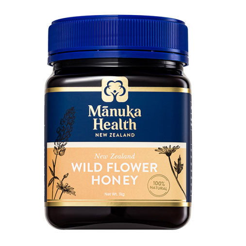 Manuka Health Wild Flower Honey - 1000g