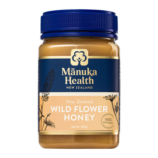 Manuka Health Wild Flower Honey - 500g