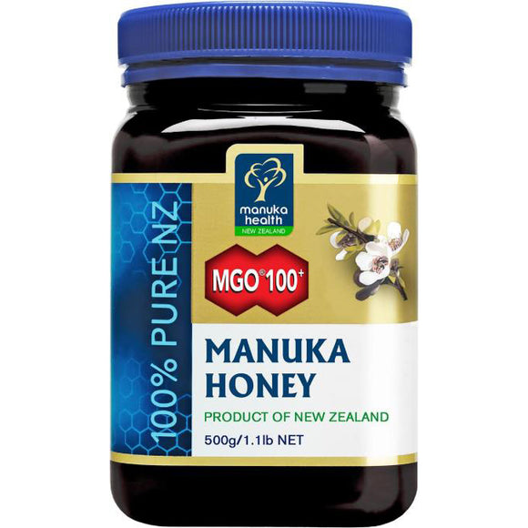 Manuka Health MGO 100+ UMF6 Manuka Honey - 500g