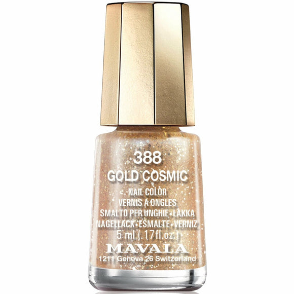 Mavala Cosmic Nail Polish Collection - Gold Cosmic (388) 5ml