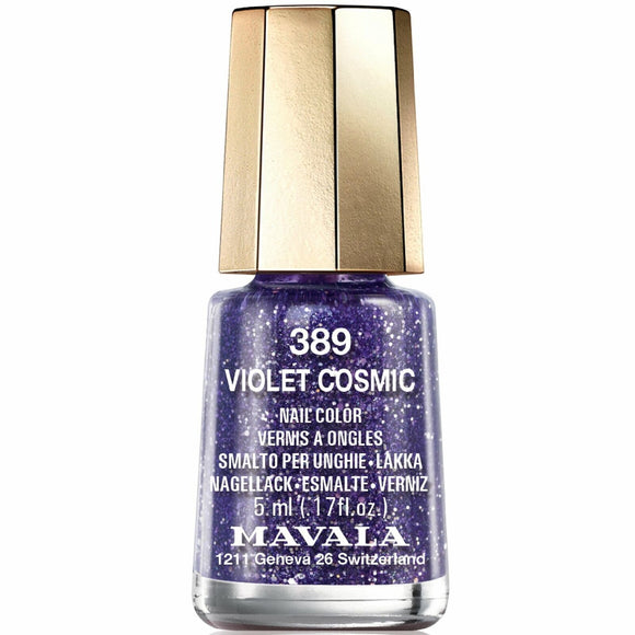 Mavala Cosmic Nail Polish Collection - Violet Cosmic (389) 5ml