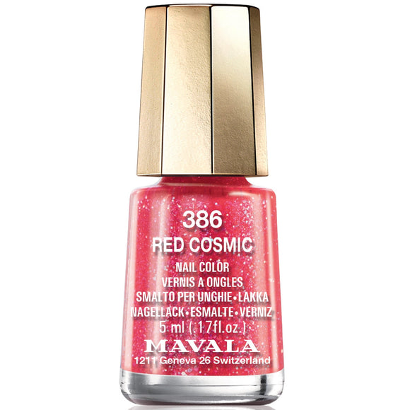 Mavala Cosmic Nail Polish Collection - Red Cosmic (386) 5ml