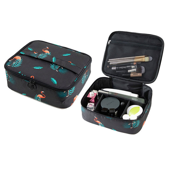 Multifuncation Travel Makeup Toiletry Bag Organizer Case