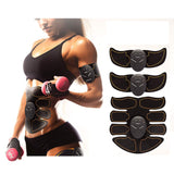 Abdominal Muscle Stimulator Toner Trainer Set for ABS, Arms and Legs