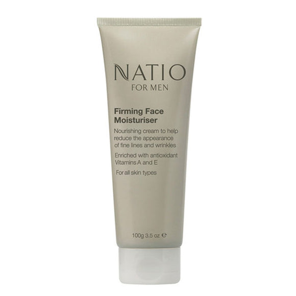Natio Firming Face Moisturiser for Men 100g