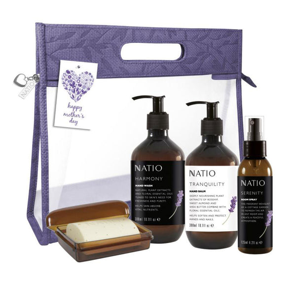 Natio Floral Mothers Day Powder Room Naturals Gift Set
