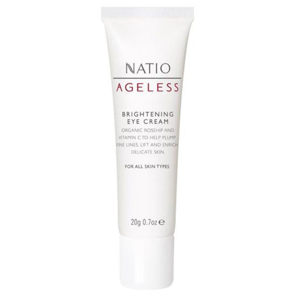 Natio Ageless Brightening Eye Cream 20g