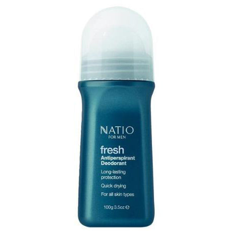 Natio Fresh Antiperspirant Deodorant For Men 100g