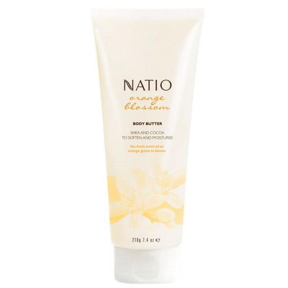 Natio Orange Blossom Body Butter 210ml