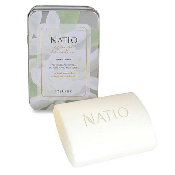 Natio Orange Blossom Body Soap 125g