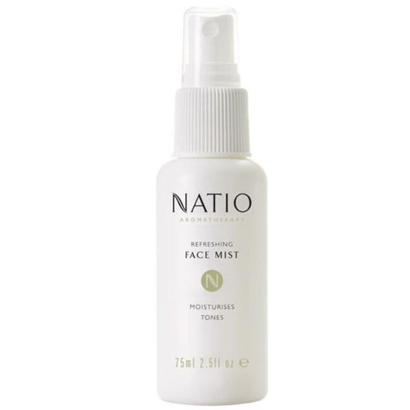 Natio Refreshing Face Mist Moisturises Tones 75ml