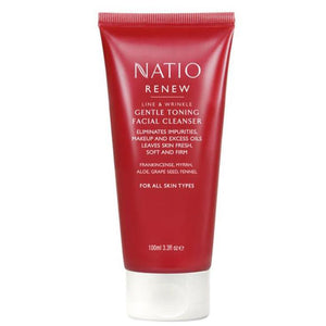 Natio Renew Line & Wrinkle Centle Toning Facial Cleanser 100ml