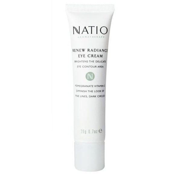 Natio Renew Radiance Eye Cream 20g