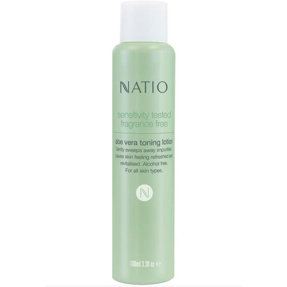 Natio Sensitivity Skin Aloe Vera Toning Lotion 100ml