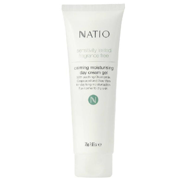 Natio Sensitivity Skin Calming Moisturising Day Cream Gel 75ml