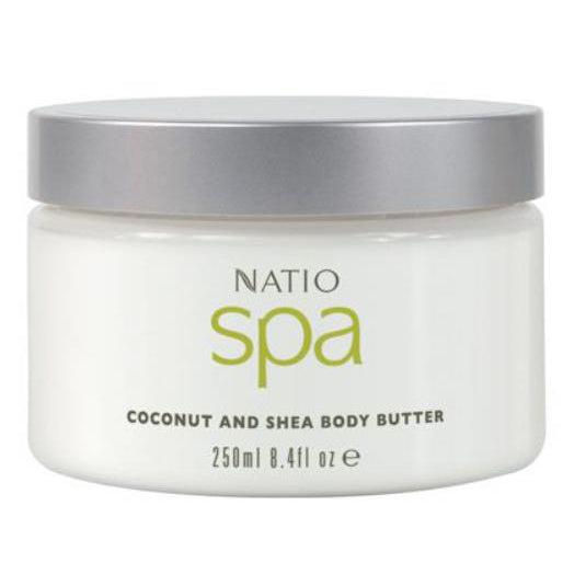 Natio Spa Coconut and Shea Body Butter 250ml