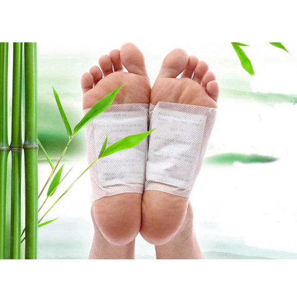 Natural Cleansing Detox Feet Pads Relief Stress Foot Pain