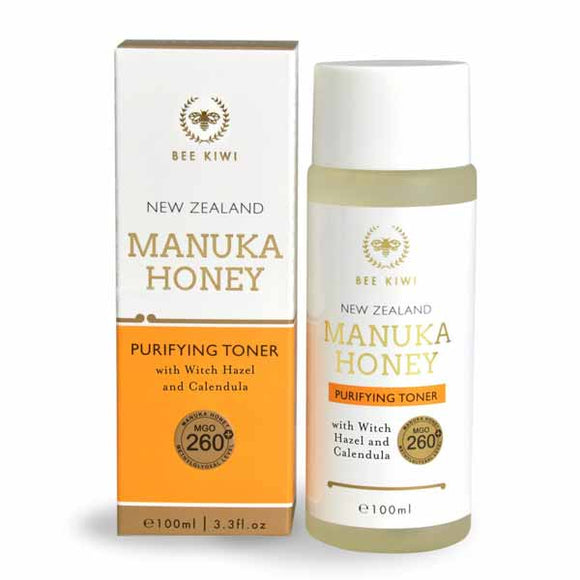 Nature's Beauty Bee Kiwi - Manuka Honey Purifying Toner 100ml