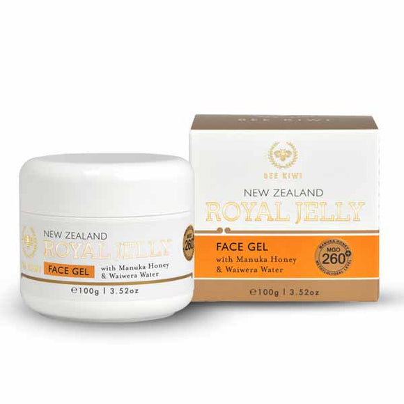 Nature's Beauty Bee Kiwi Royal Jelly Face Gel 100g