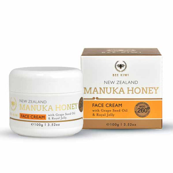 Nature's Beauty Manuka Honey Face Cream 100g