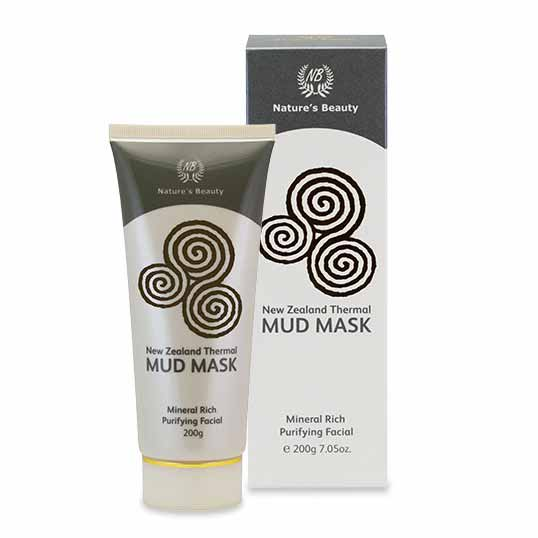 Nature's Beauty New Zealand Thermal Mud Mask 200g