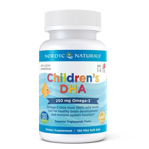 Nordic Naturals Children's DHA - Chewable 180 Softgels