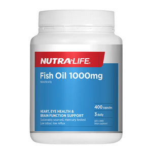 Nutra-Life Fish Oil 1000mg - 400 Capsules