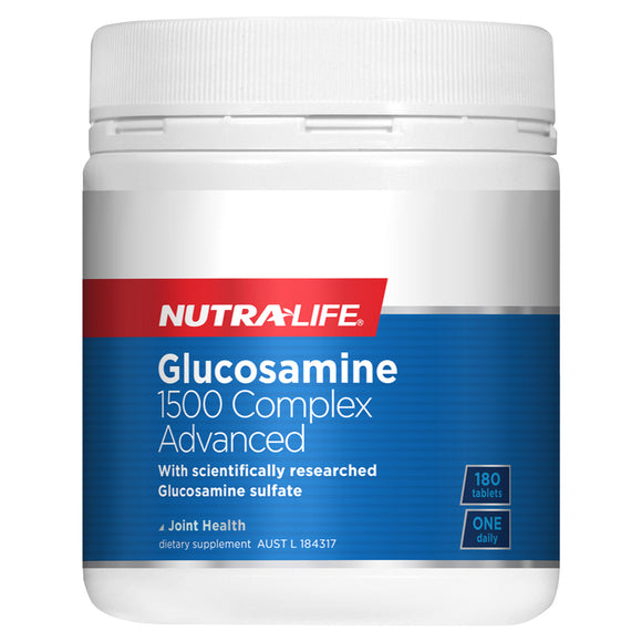 Nutra-Life Glucosamine 1500 Complex Advanced - 180 Tablets
