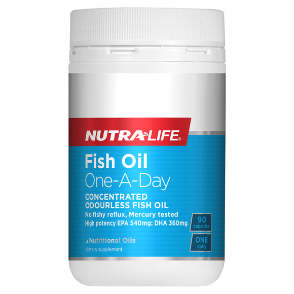 Nutra-Life Ocean Clean Fish Oil One-A-Day - 90 Capsules