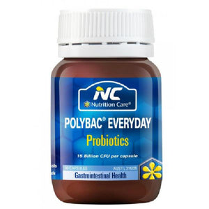Nutrition Care Polybac Everyday Probiotics 30 Capsules